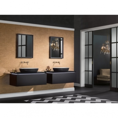 Praustuvas Villeroy & Boch Artis juodos spalvos 58X38cm 2