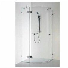 Pusapvalė dušo kabina Baltijos Brasta Banga