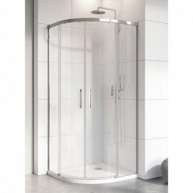 Pusapvalė dušo kabina Radaway Idea PDD (dydžių pasirinkimas)