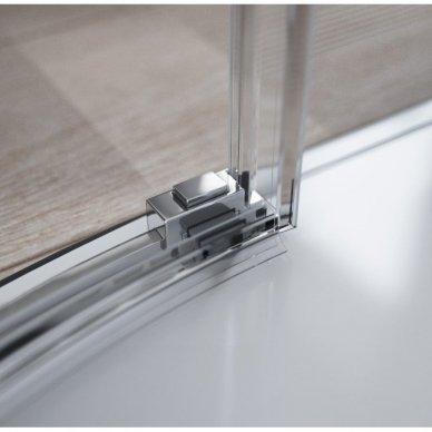 Pusapvalė dušo kabina Radaway Idea PDD (dydžių pasirinkimas) 2