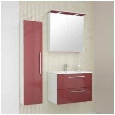 Raguvos Baldai trijų dalių komplektas su veidrodine spintele iš apšvietimu Allegro 75