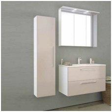 Raguvos Baldai trijų dalių komplektas su veidrodine spintele ir apšvietimu Allegro 90