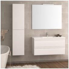 Raguvos Baldai trijų dalių komplektas su veidrodžiu ir šviestuvu Terra 100