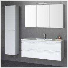 Raguvos Baldai trijų dalių komplektas su veidrodine spintele ir šviestuvu Terra 120