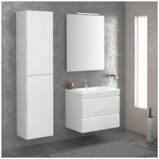 Raguvos Baldai trijų dalių komplektas su veidrodžiu ir šviestuvu Terra 60