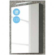 Raguvos Baldai Scandic veidrodinė spintelė su LED apšvietimu 460x700 mm