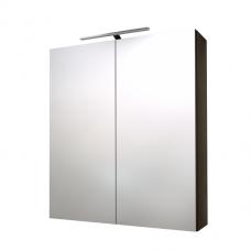 Raguvos Baldai veidrodinė spintelė su LED apšvietimu Scandic 60