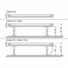 Ravak kvadratinis dušo padėklas Perseus Pro Chrome 900x900