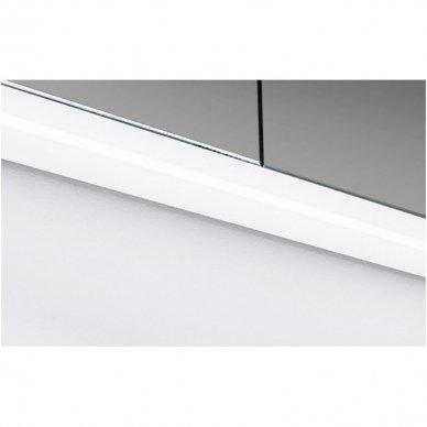 Trijų dalių baldų komplektas su veidrodine spintele ir šviestuvu Kamė Adagio 120 8