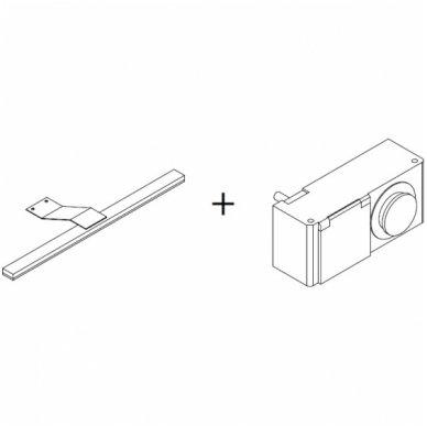 Raguvos baldai trijų dalių komplektas su veidrodine spintele ir apšvietimu Scandic 100 5
