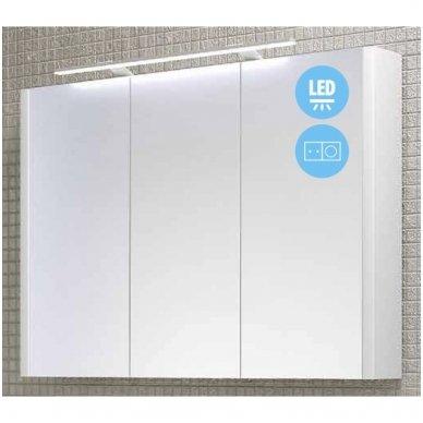 Raguvos Baldai Serena veidrodinė spintelė su LED apšvietimu 3
