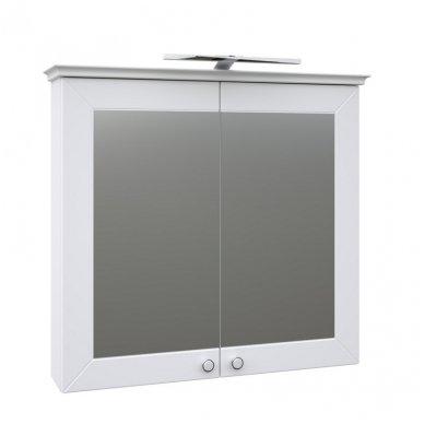 Raguvos Baldai Siesta veidrodinė spintelė 790x726 mm su LED apšvietimu