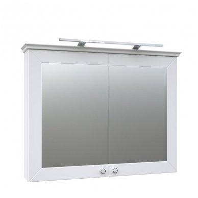 Raguvos Baldai Siesta veidrodinė spintelė 940x726 mm su LED apšvietimu