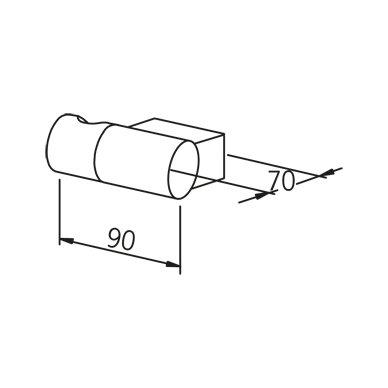Reguliuojamas dušo galvutės laikiklis Oras Hydra 251080 2