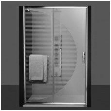 Roltechnik dušo durys PXD2N Design+ 1200