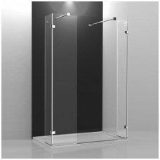 Roltechnik stačiakampė dušo kabina Walk In A