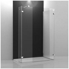 Roltechnik stačiakampė dušo kabina Walk In B