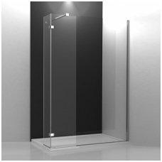 Roltechnik stačiakampė dušo kabina Walk In C 1500