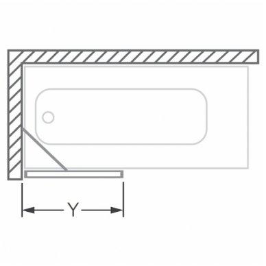 Roltechnik vonios sienelė PXV1 750 3