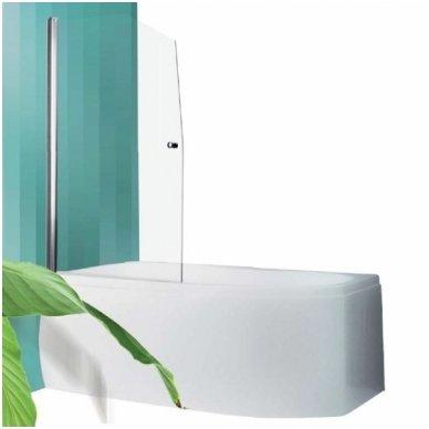 Roltechnik vonios sienelė Swing