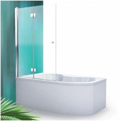 Roltechnik vonios sienelė TZVL2/TZVP2 1000