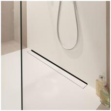 Sieninis dušo latakas ACO ShowerDrain W su įklijuojama plytele