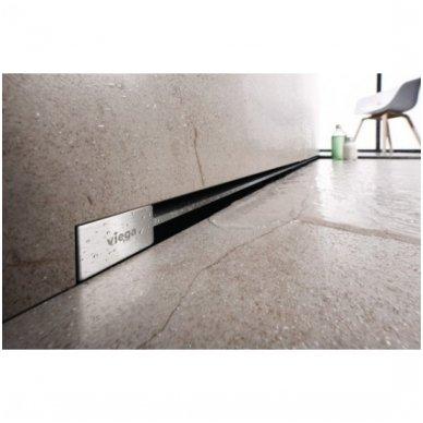 Sieninis pjaustomas dušo latakas Viega Advantix Vario nuo 30 iki 120 cm