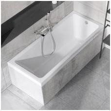 Stačiakampė akrilinė vonia Ravak 10°