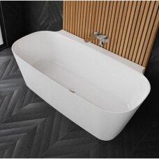 Statoma prie sienos akmens masės vonia VAYER NOVA 2 1640X830