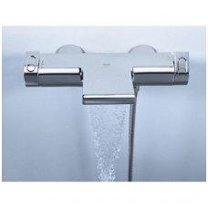 Termostatinis maišytuvas voniai su krioklio tipo srove Grohe Grohetherm 2000 New