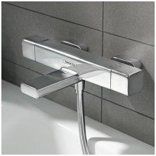 Termostatinis vonios maišytuvas Hansgrohe Ecostat E