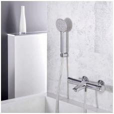 Termostatinis vonios/dušo maišytuvas su rankiniu dušu Alpi City Plus