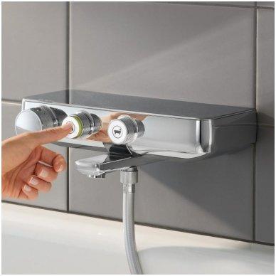 Termostatinis vonios/dušo maišytuvas Grohe Grohtherm SmartControl su lentynėle 2