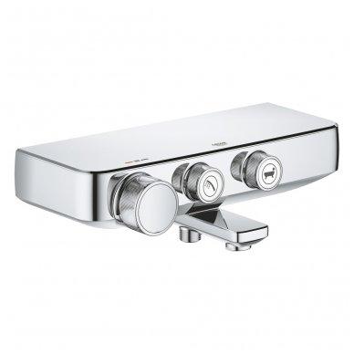 Termostatinis vonios/dušo maišytuvas Grohe Grohtherm SmartControl su lentynėle