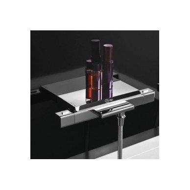 Termostatinis vonios/dušo maišytuvas su lentynėle Alpi Naboo 2