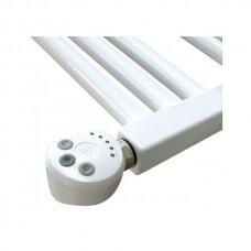 Tiesios baltos elektrinės kopetėlės Thermal Trend su reg. kaitinimo elementu