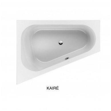 Asimetrinė akrilinė vonia Villeroy & Boch Loop &Friends Oval 175x135 4