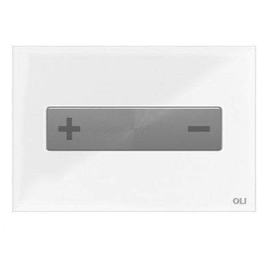Vandens nuleidimo mygtukas OLI OKEANIA, mechaninis arba pneumatinis (spalvu pasirinkimas) 5