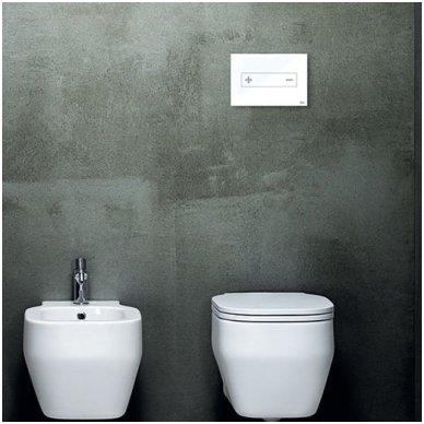 Vandens nuleidimo mygtukas OLI OKEANIA, mechaninis arba pneumatinis (spalvu pasirinkimas) 7