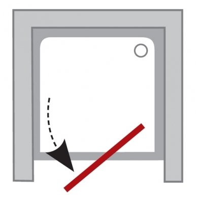 Varstomos dušo durys Ravak Pivot PDOP1 2