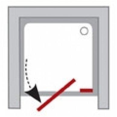 Varstomos dušo durys Ravak Pivot PDOP2 3