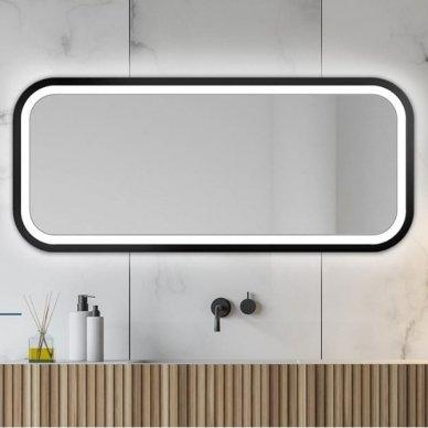 Veidrodis Ruke Mira Light su LED apšvietimu (spalvų ir dydžių pasirinkimas)