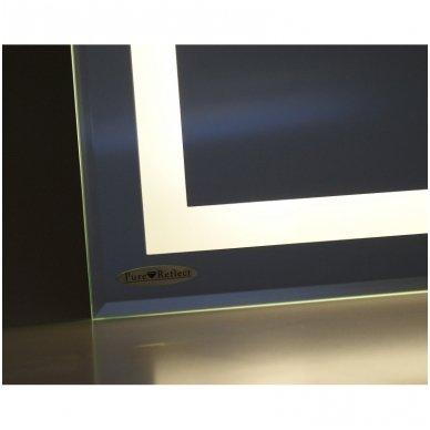 "Veidrodis ""Square Line Standart"" su LED apšvietimu ir sensoriniu jungikliu 4"
