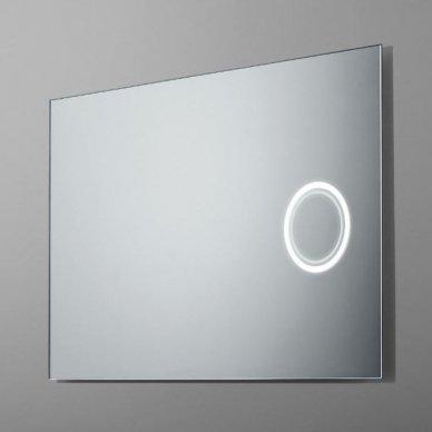Veidrodis su 3X didinančiu veidrodėliu su LED apšvietimu Ruke Look (dydžių pasirinkimas)