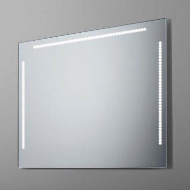 Veidrodis su LED apšvietimu Ruke Power Points (dydžių pasirinkimas)