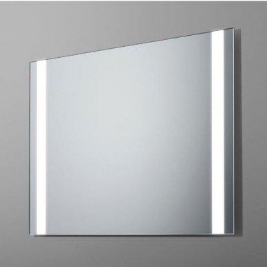 Veidrodis su LED apšvietimu Ruke Panorama (dydžių pasirinkimas)