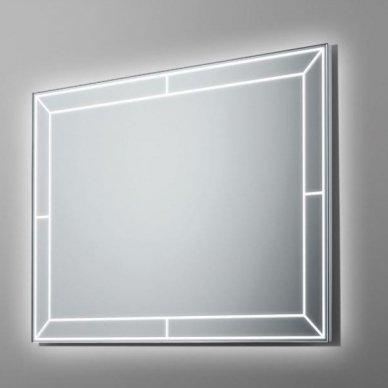 Veidrodis su LED apšvietimu Ruke Futuro (dydžių pasirinkimas)