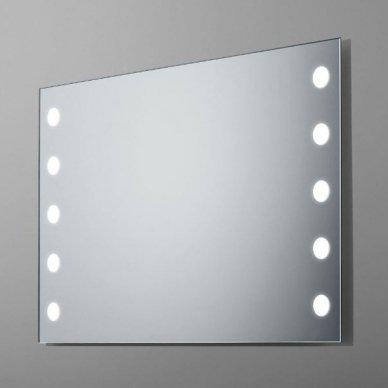 Veidrodis su LED apšvietimu Ruke Sun (dydžių pasirinkimas)