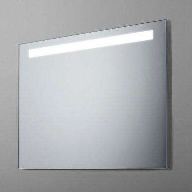 Veidrodis su LED apšvietimu Ruke Simplex (dydžių pasirinkimas)