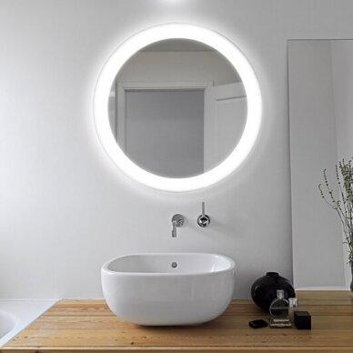 Veidrodis su LED apšvietimu Ruke Volante (dydžių pasirinkimas) 2
